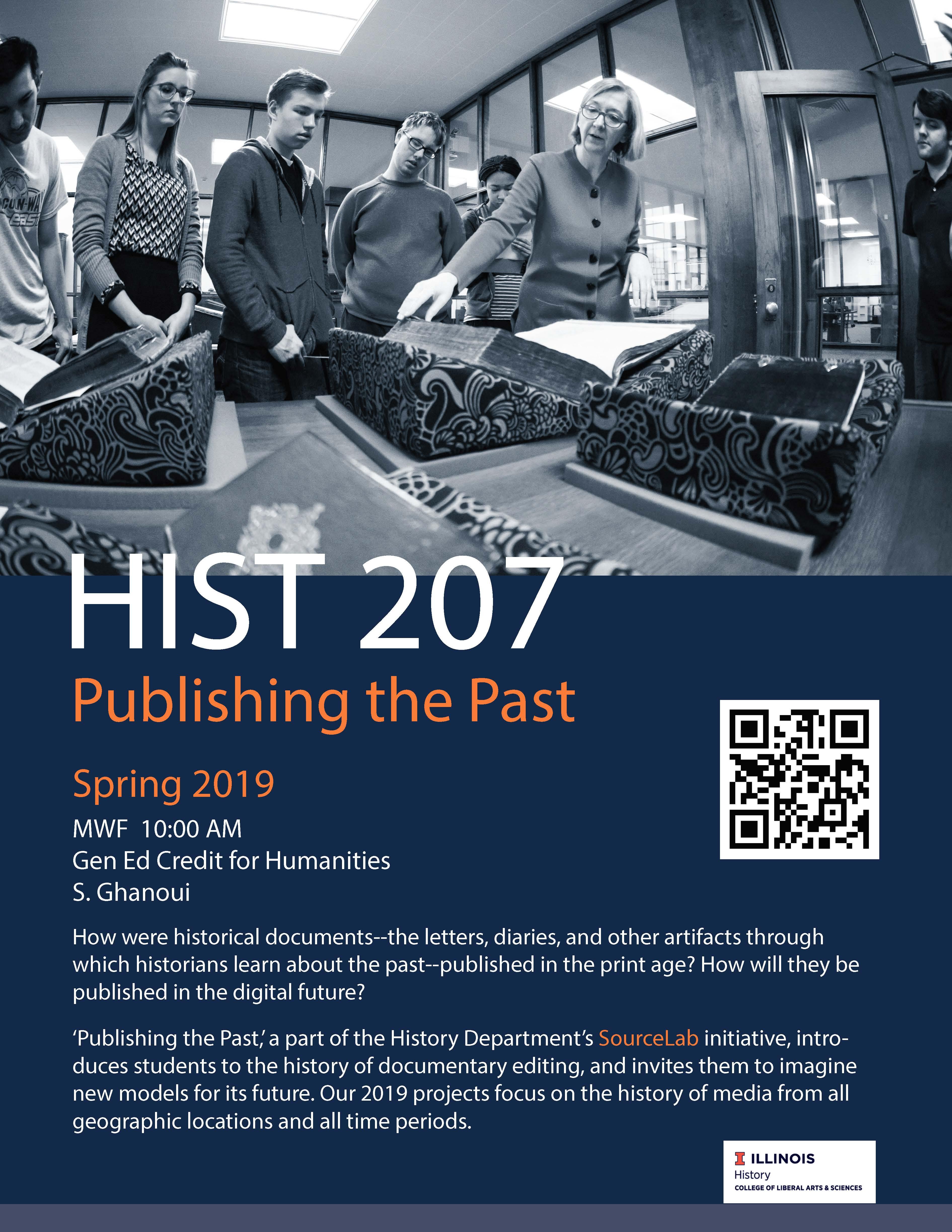 hist 207 course flyer ghanoui